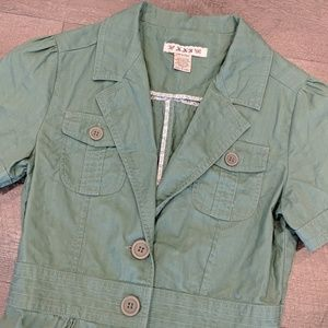 Forever 21 Cropped Blazer Jacket